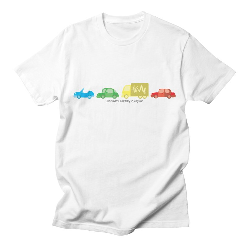 Inflexibility is Orderly in Disguise - Autisme Men's T-shirt by Ismewayoflife