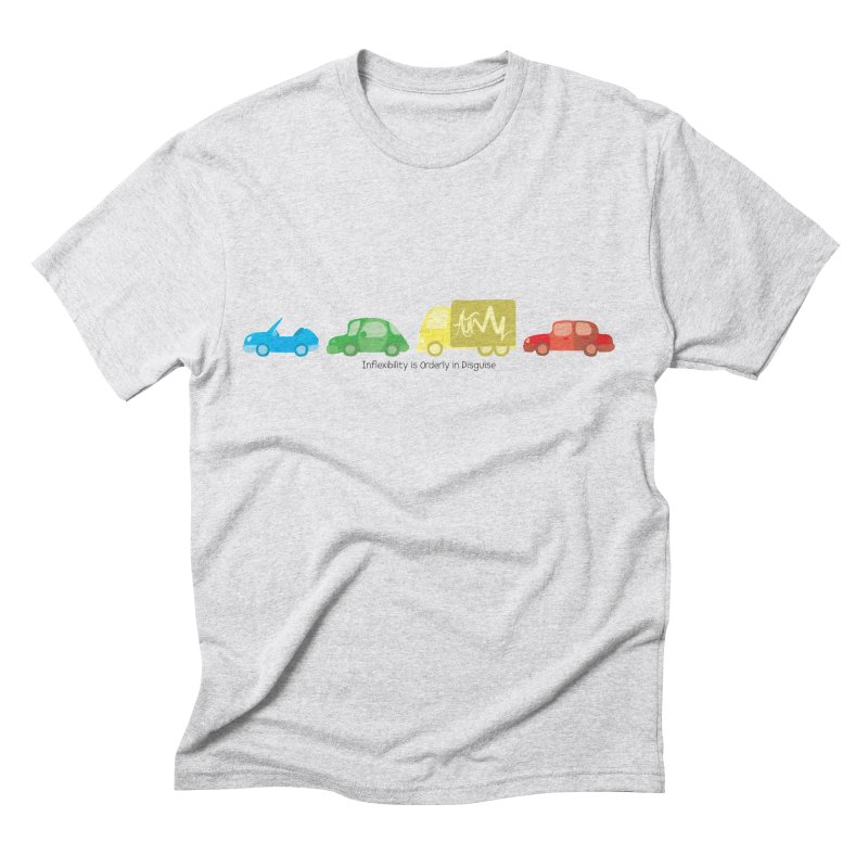 Inflexibility is Orderly in Disguise - Autisme Men's Triblend T-shirt by Ismewayoflife