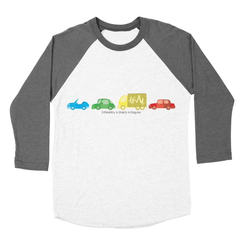 Inflexibility is Orderly in Disguise - Autisme Women's Baseball Triblend T-Shirt by Ismewayoflife