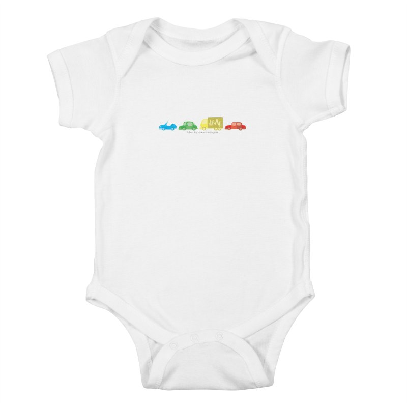 Inflexibility is Orderly in Disguise - Autisme Kids Baby Bodysuit by Ismewayoflife