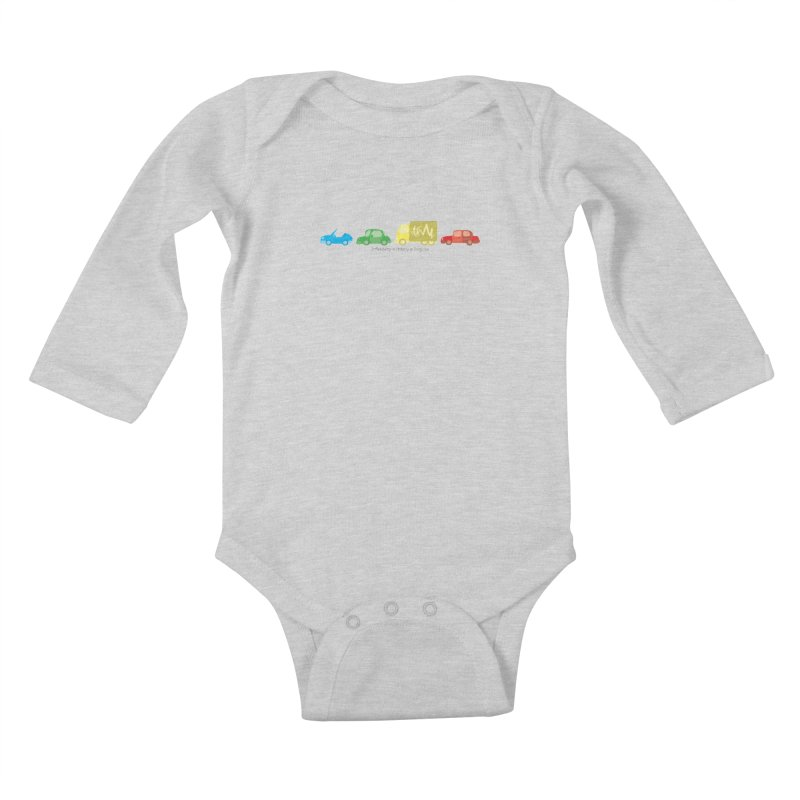 Inflexibility is Orderly in Disguise - Autisme Kids Baby Longsleeve Bodysuit by Ismewayoflife