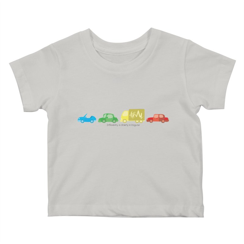 Inflexibility is Orderly in Disguise - Autisme Kids Baby T-Shirt by Ismewayoflife