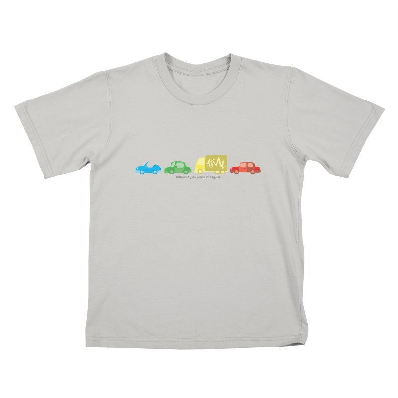 Inflexibility is Orderly in Disguise - Autisme Kids T-Shirt by Ismewayoflife