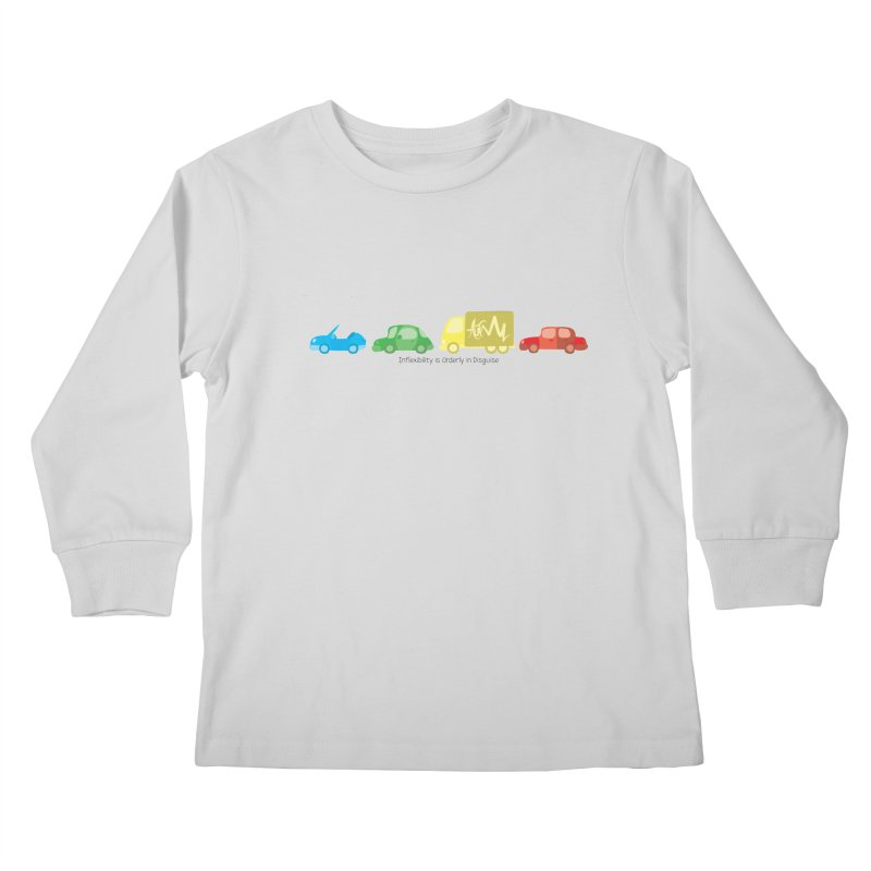 Inflexibility is Orderly in Disguise - Autisme Kids Longsleeve T-Shirt by Ismewayoflife