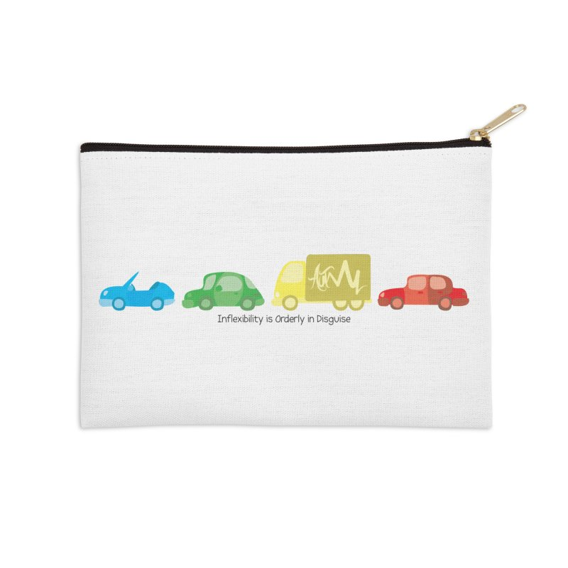 Inflexibility is Orderly in Disguise - Autisme Accessories Zip Pouch by Ismewayoflife