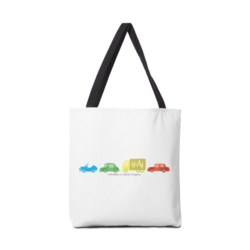 Inflexibility is Orderly in Disguise - Autisme Accessories Bag by Ismewayoflife