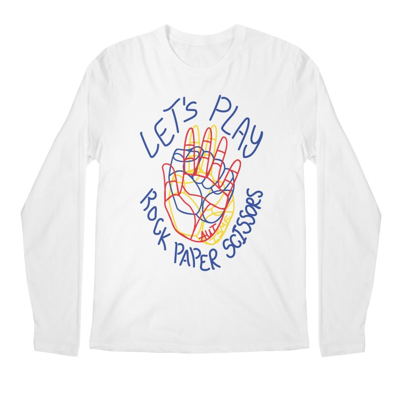 Let's Play! - Autisme Men's Longsleeve T-Shirt by Ismewayoflife