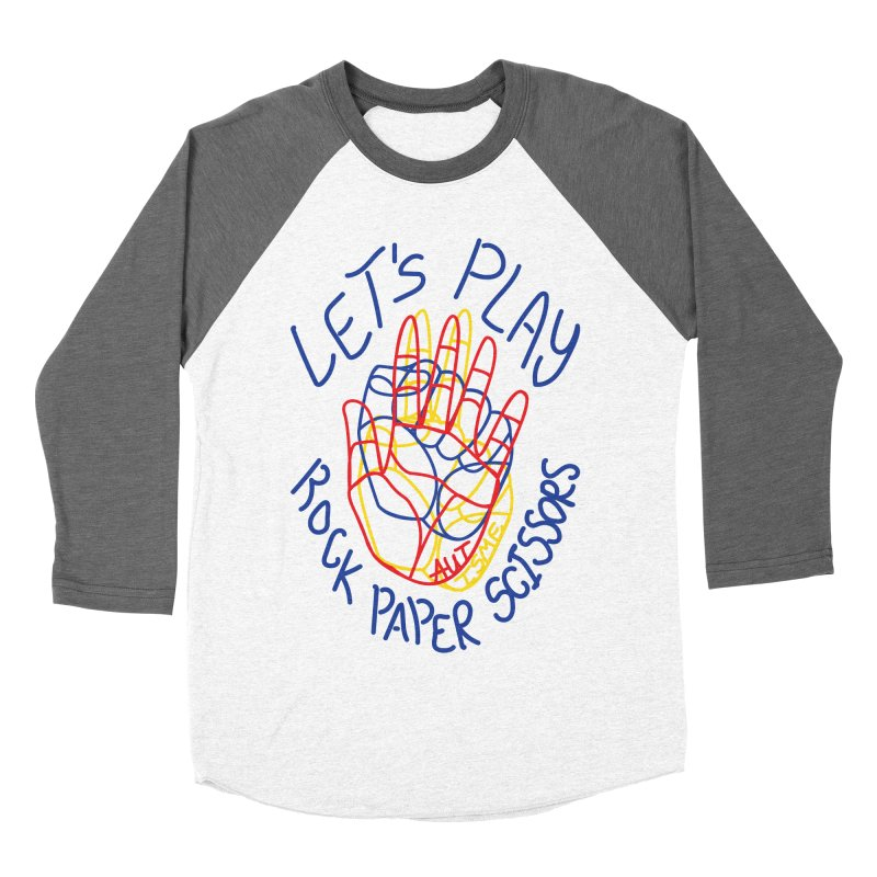 Let's Play! - Autisme Women's Baseball Triblend T-Shirt by Ismewayoflife