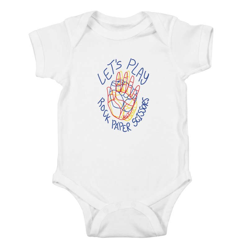 Let's Play! - Autisme Kids Baby Bodysuit by Ismewayoflife