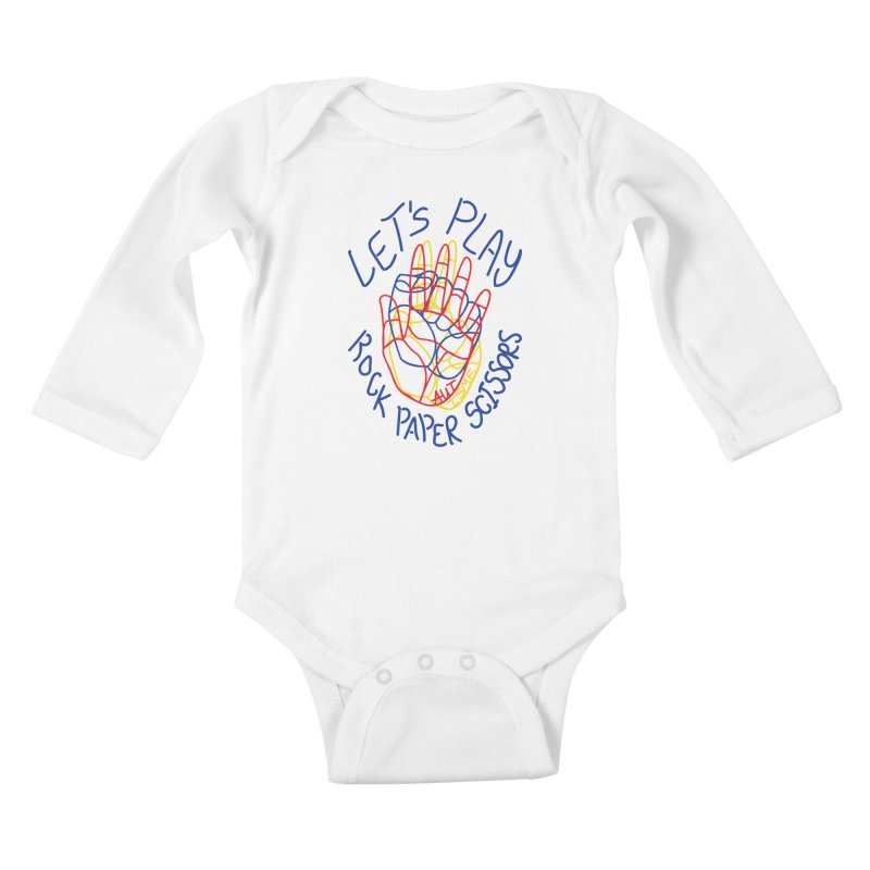 Let's Play! - Autisme Kids Baby Longsleeve Bodysuit by Ismewayoflife
