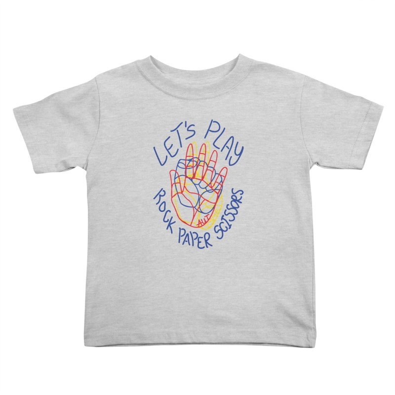 Let's Play! - Autisme Kids Toddler T-Shirt by Ismewayoflife