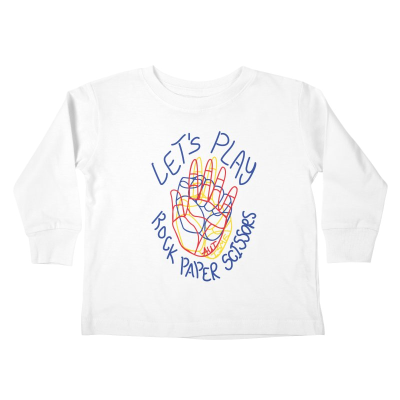 Let's Play! - Autisme Kids Toddler Longsleeve T-Shirt by Ismewayoflife