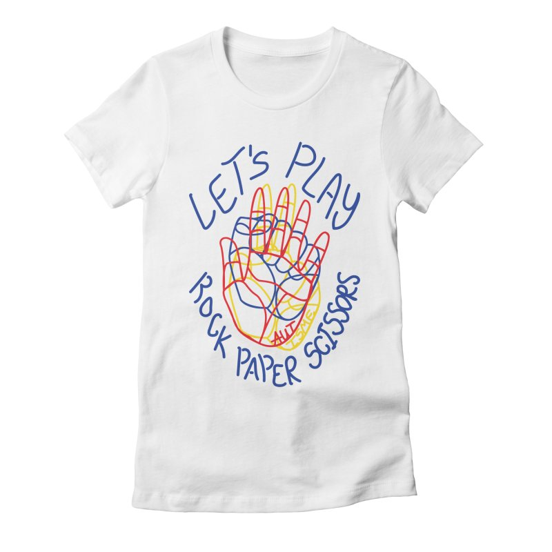 Let's Play! - Autisme Women's Fitted T-Shirt by Ismewayoflife