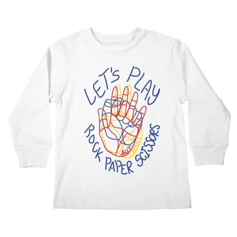 Let's Play! - Autisme Kids Longsleeve T-Shirt by Ismewayoflife