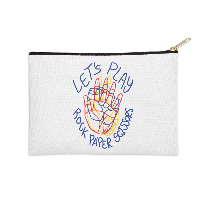 Let's Play! - Autisme Accessories Zip Pouch by Ismewayoflife