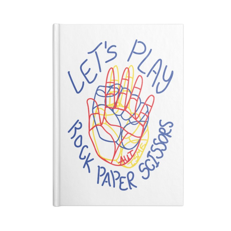 Let's Play! - Autisme Accessories Notebook by Ismewayoflife