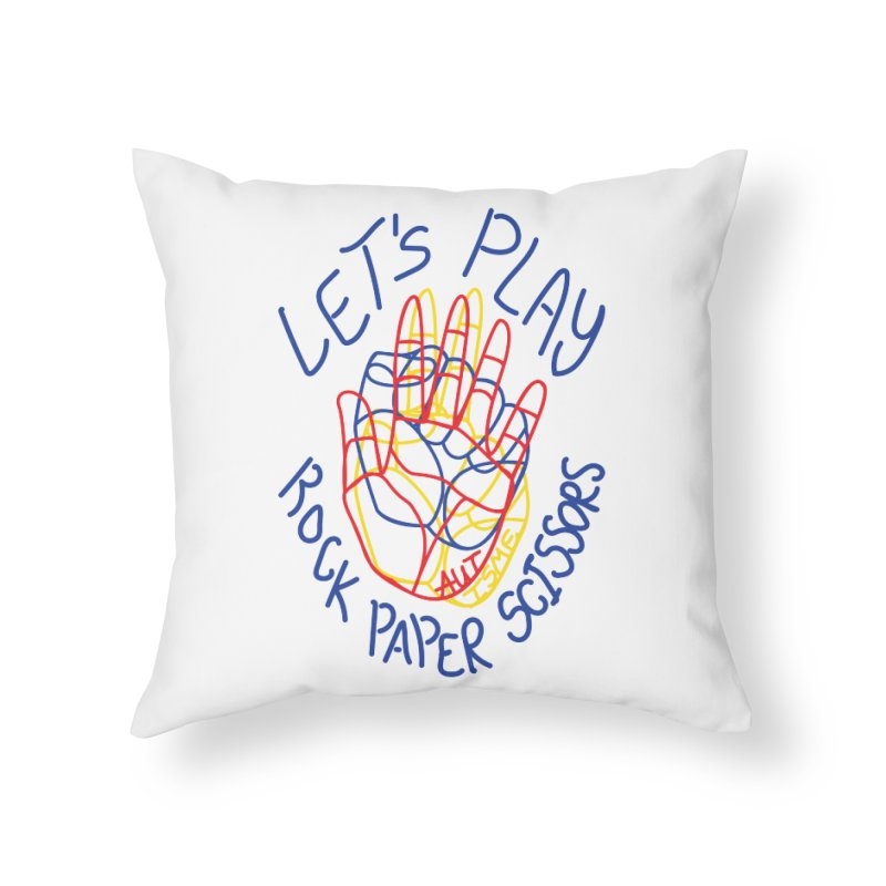 Let's Play! - Autisme Home Throw Pillow by Ismewayoflife