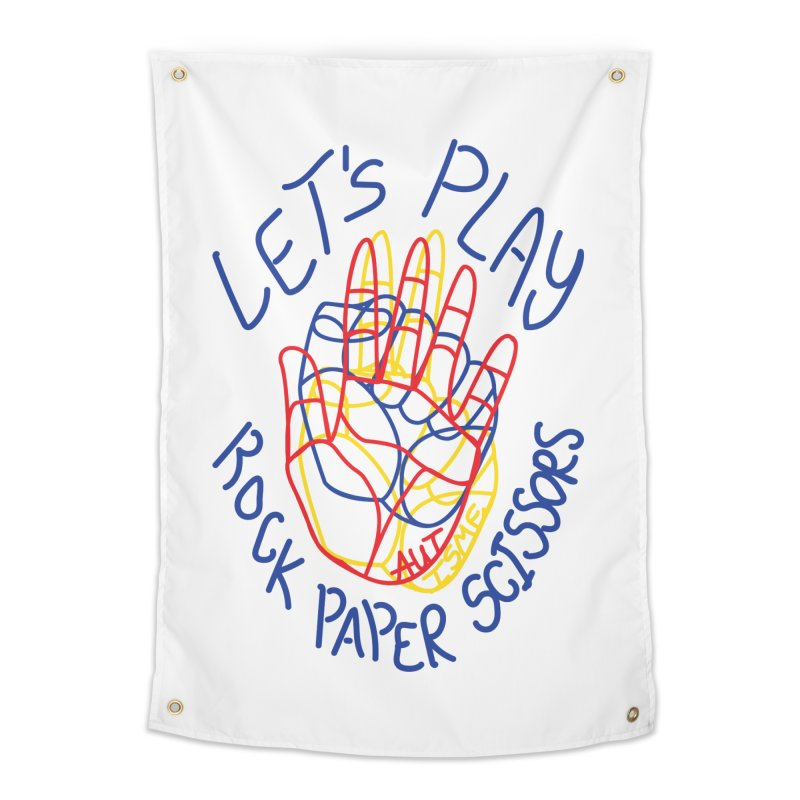 Let's Play! - Autisme Home Tapestry by Ismewayoflife