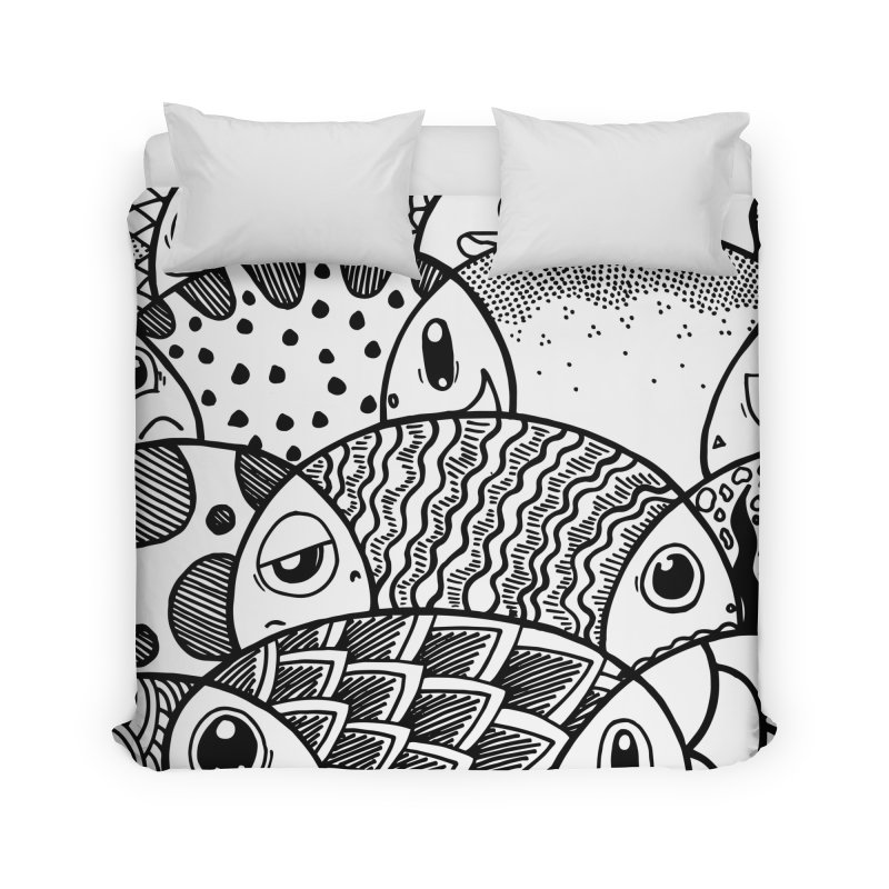 School of Patterns Home Duvet by Ismewayoflife