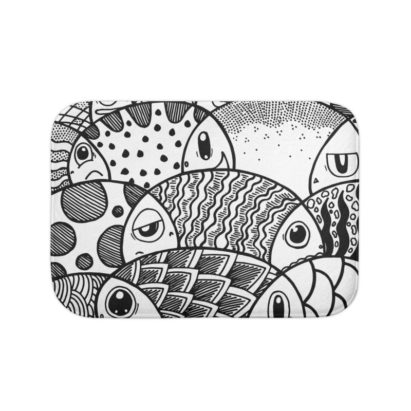 School of Patterns Home Bath Mat by Ismewayoflife