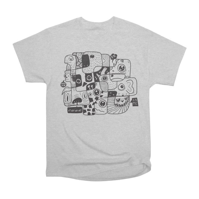 Animal Kingdom Speak Up Women's Heavyweight Unisex T-Shirt by Ismewayoflife