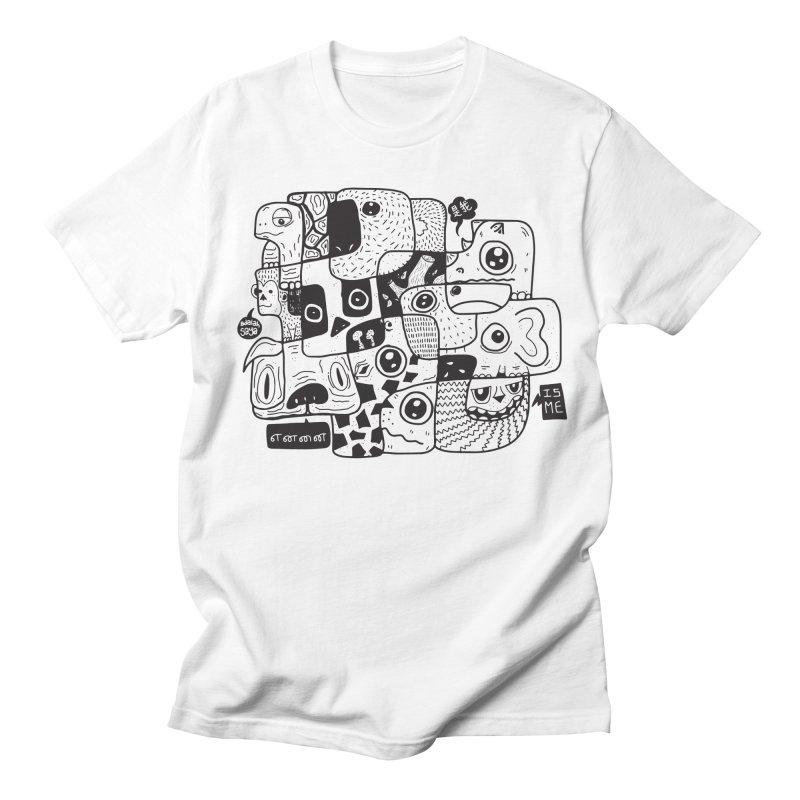 Animal Kingdom Speak Up Men's T-shirt by Ismewayoflife