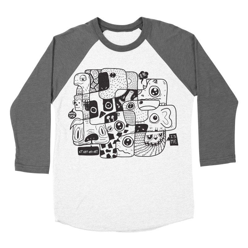 Animal Kingdom Speak Up Men's Baseball Triblend T-Shirt by Ismewayoflife