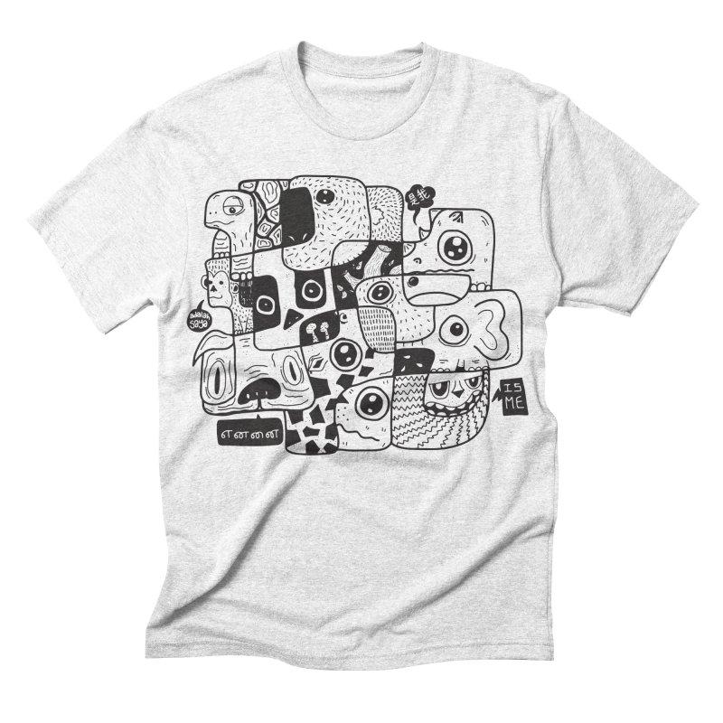 Animal Kingdom Speak Up Men's Triblend T-shirt by Ismewayoflife