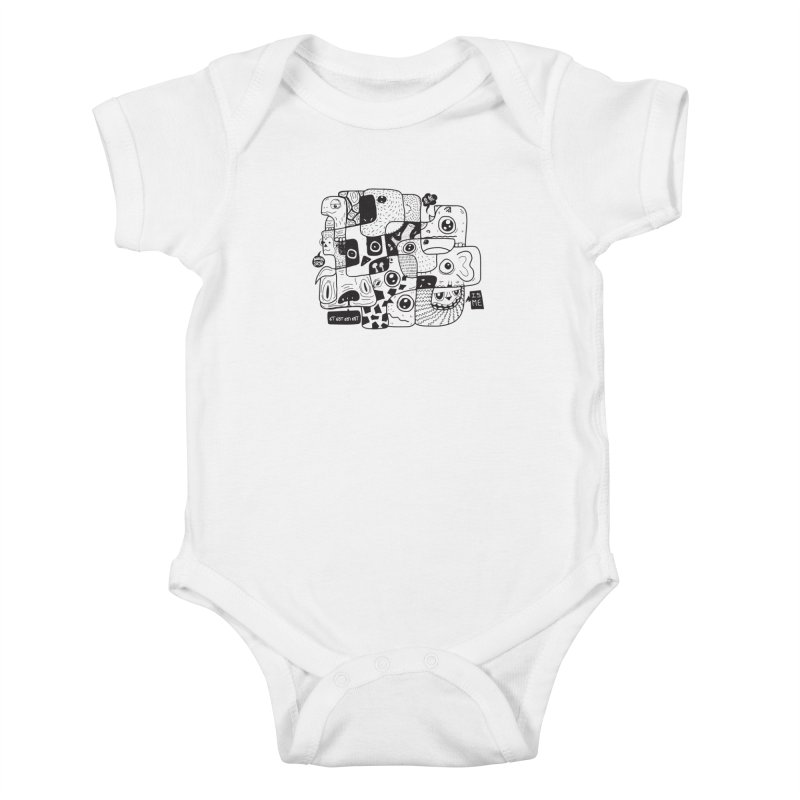 Animal Kingdom Speak Up Kids Baby Bodysuit by Ismewayoflife