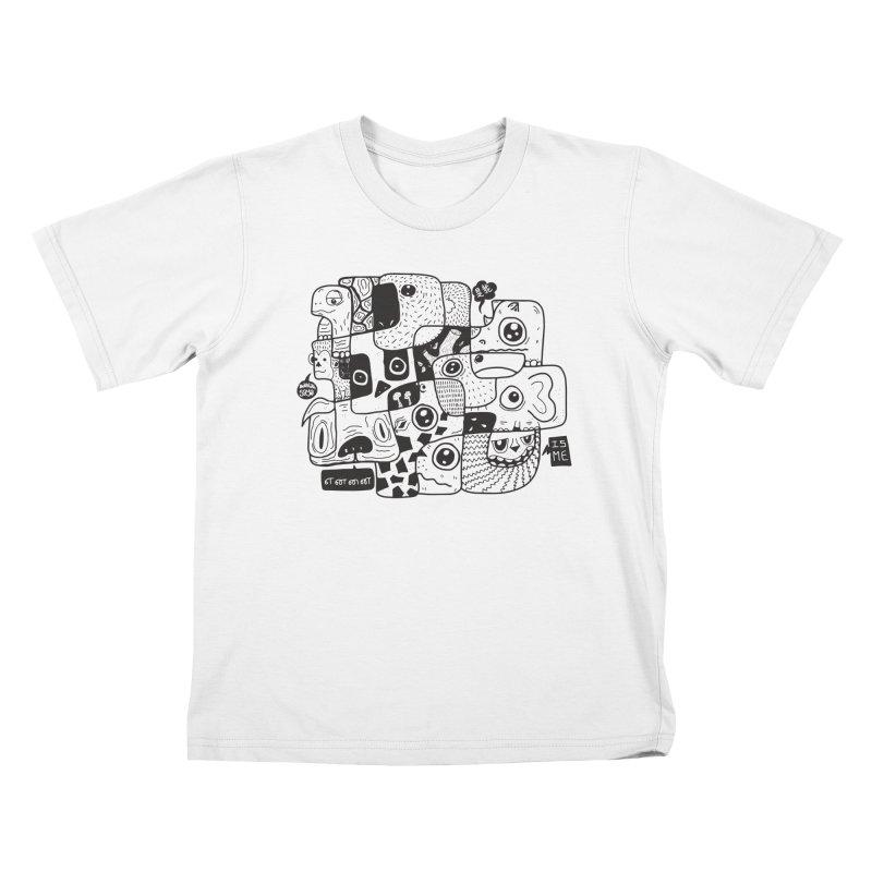 Animal Kingdom Speak Up Kids T-shirt by Ismewayoflife