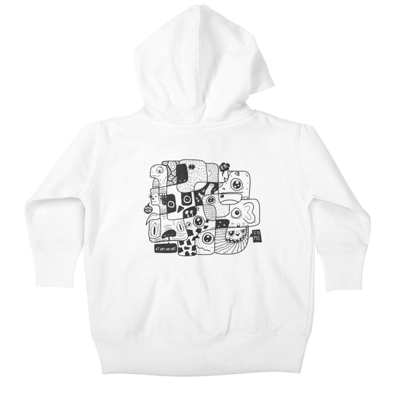 Animal Kingdom Speak Up Kids Baby Zip-Up Hoody by Ismewayoflife