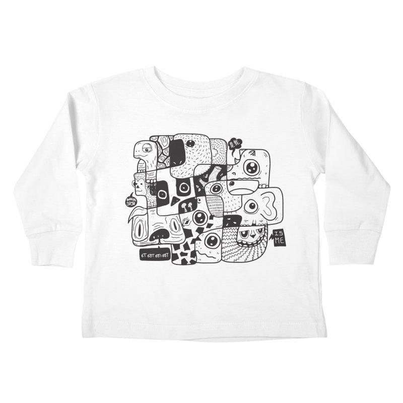 Animal Kingdom Speak Up Kids Toddler Longsleeve T-Shirt by Ismewayoflife
