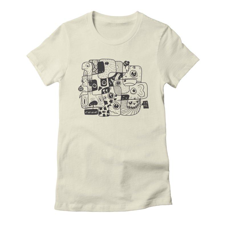 Animal Kingdom Speak Up Women's Fitted T-Shirt by Ismewayoflife