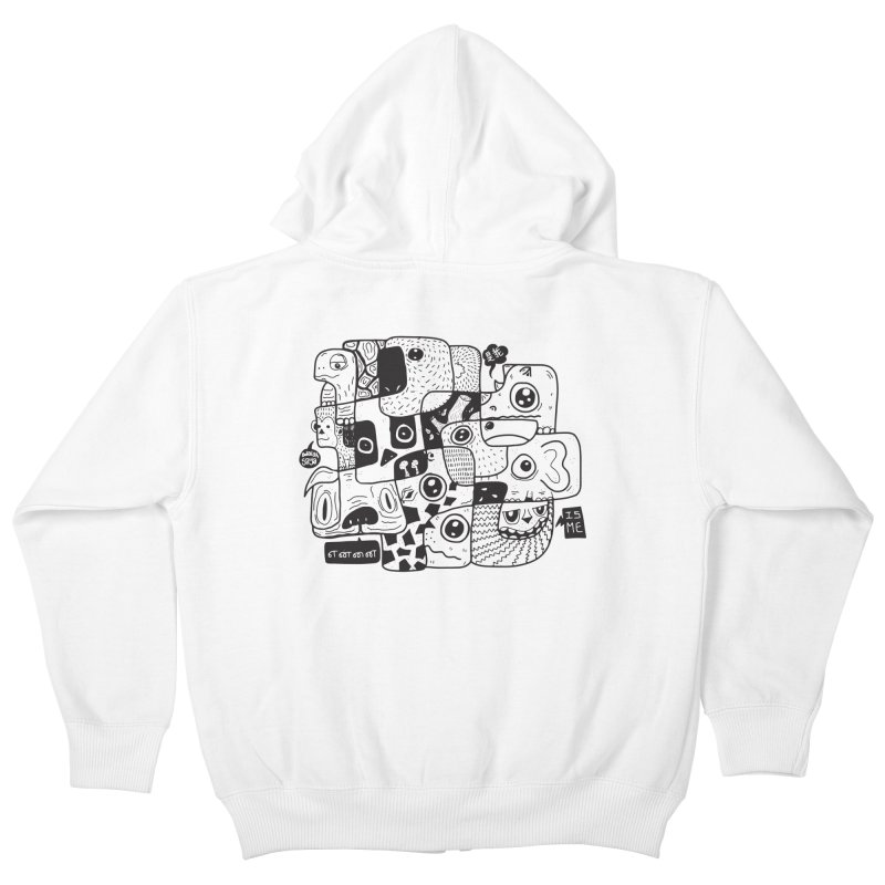 Animal Kingdom Speak Up Kids Zip-Up Hoody by Ismewayoflife