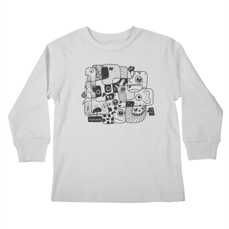 Animal Kingdom Speak Up Kids Longsleeve T-Shirt by Ismewayoflife