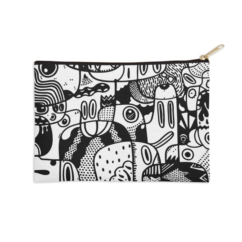 People Mountain People Sea Accessories Zip Pouch by Ismewayoflife