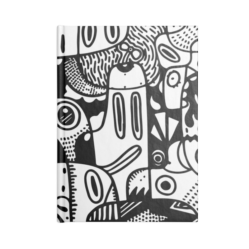 People Mountain People Sea Accessories Notebook by Ismewayoflife