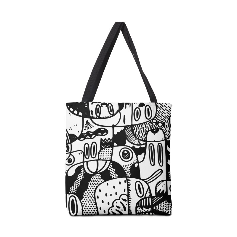 People Mountain People Sea Accessories Bag by Ismewayoflife