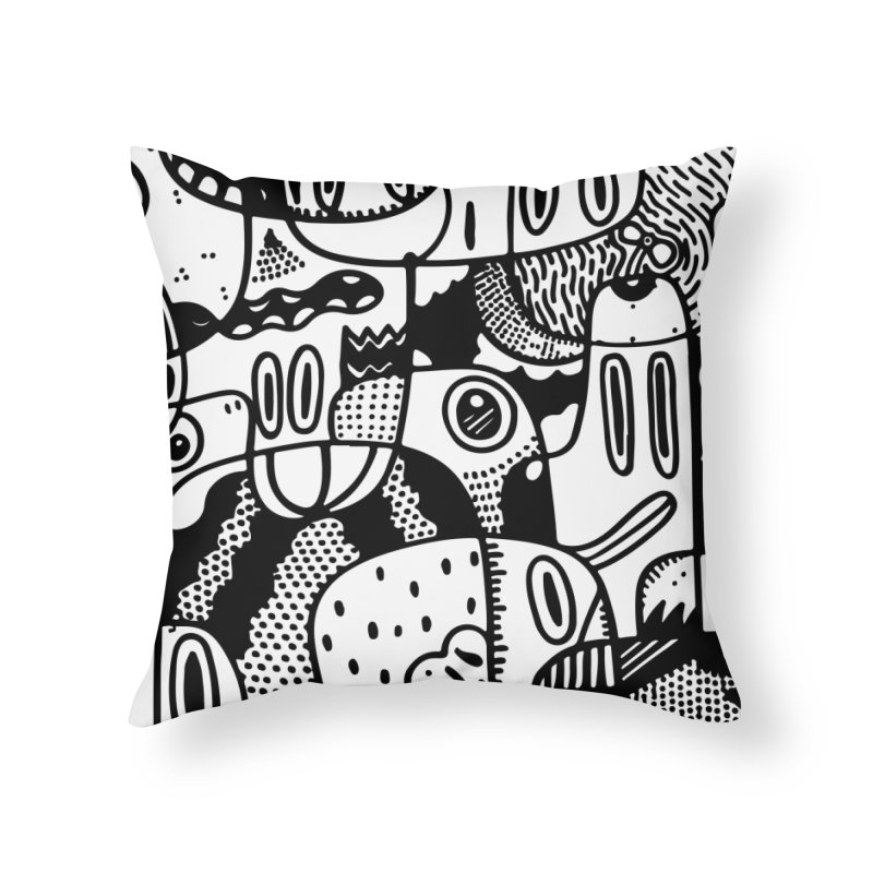 People Mountain People Sea Home Throw Pillow by Ismewayoflife
