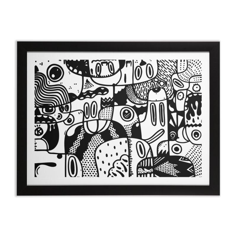 People Mountain People Sea Home Framed Fine Art Print by Ismewayoflife