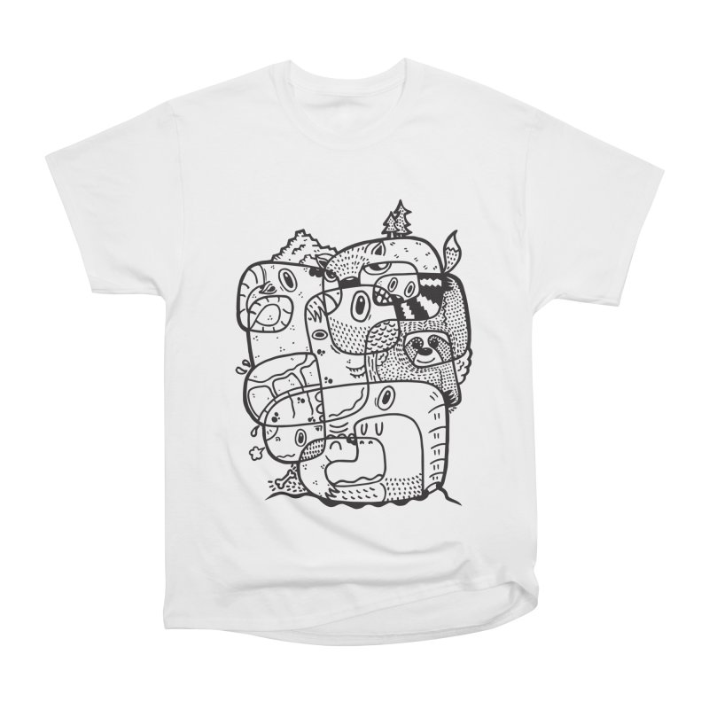 Wild & Free Men's Heavyweight T-Shirt by Ismewayoflife