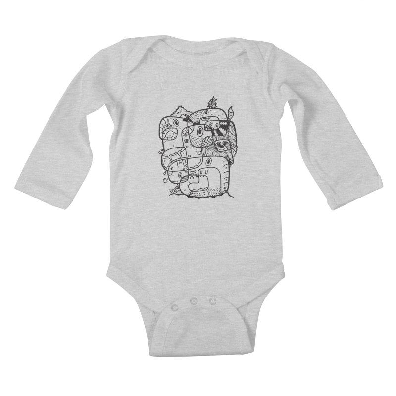 Wild & Free Kids Baby Longsleeve Bodysuit by Ismewayoflife
