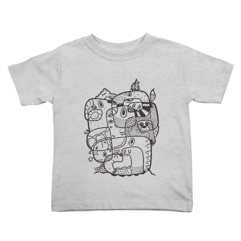 Wild & Free Kids Toddler T-Shirt by Ismewayoflife