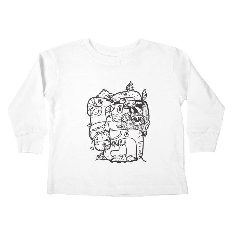 Wild & Free Kids Toddler Longsleeve T-Shirt by Ismewayoflife