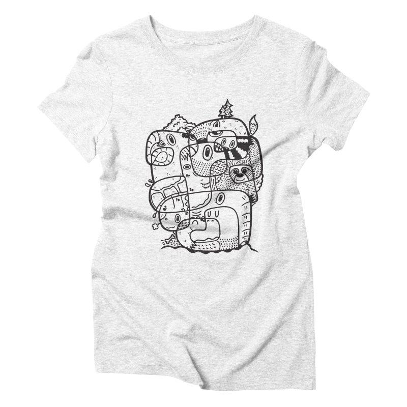 Wild & Free Women's Triblend T-shirt by Ismewayoflife