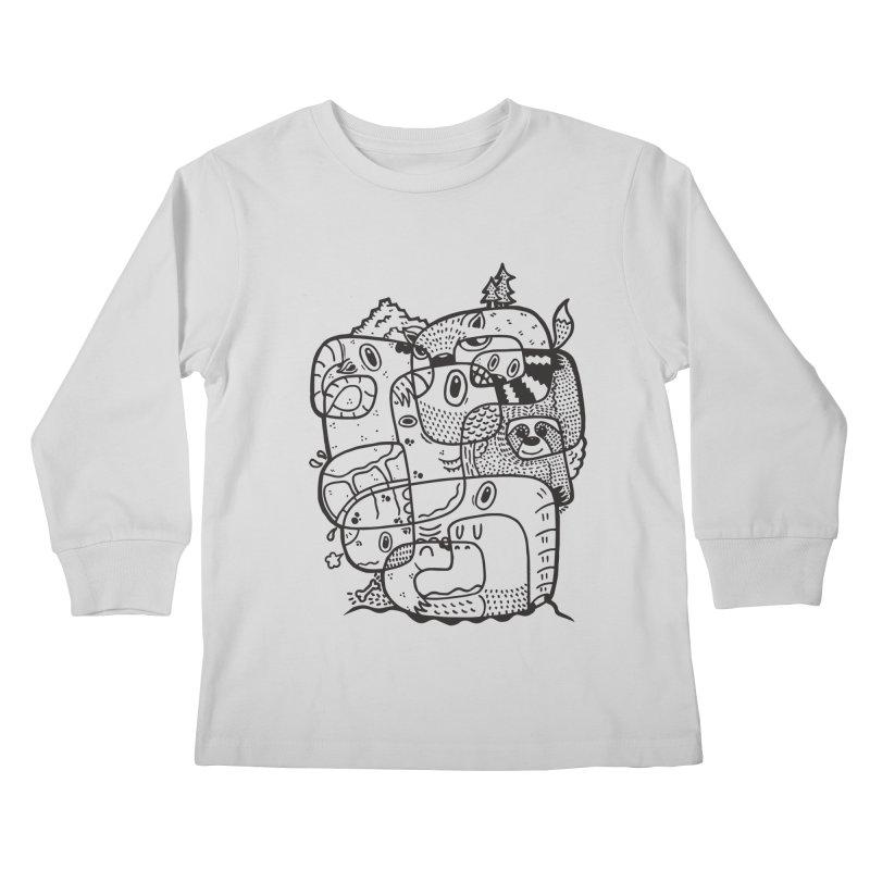 Wild & Free Kids Longsleeve T-Shirt by Ismewayoflife