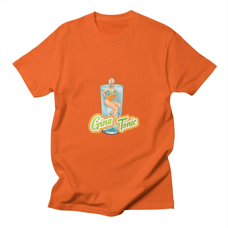 Drink with Gina Men's T-Shirt by ItsGinaTonic's Artist Shop
