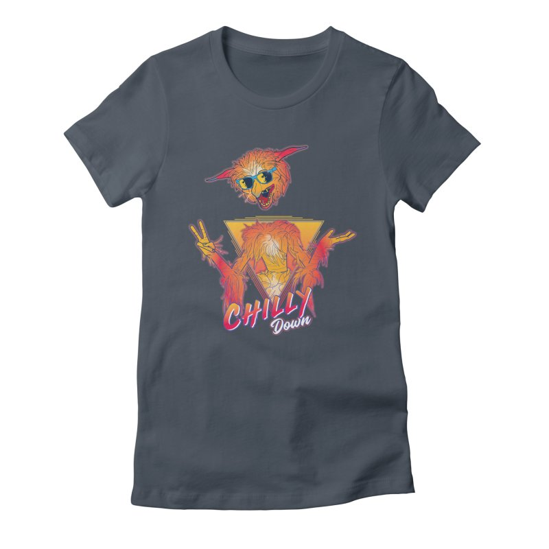 Chilly Down Women's T-Shirt by Ivyfay's Artist Shop