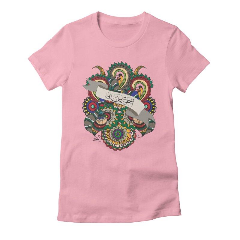 Askha_Min_Hatim Women's Fitted T-Shirt by Iythar's Artist Shop