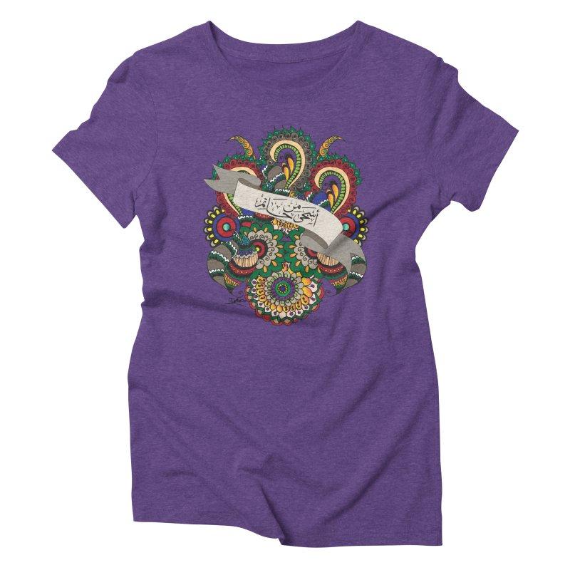 Askha_Min_Hatim Women's Triblend T-Shirt by Iythar's Artist Shop